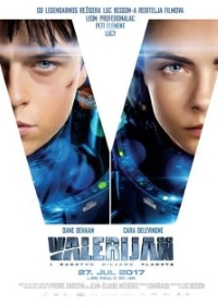 film VALERIJAN I CARSTVO HILJADU PLANETA  3D (Valerian and the City of a Thousand Planets)
