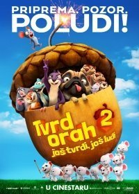 film TVRD ORAH 2, 3D (sinh.) (The Nut Job 2: Nutty by Nature)