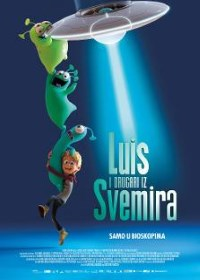 film LUIS I DRUGARI IZ SVEMIRA (Luis and the Aliens)